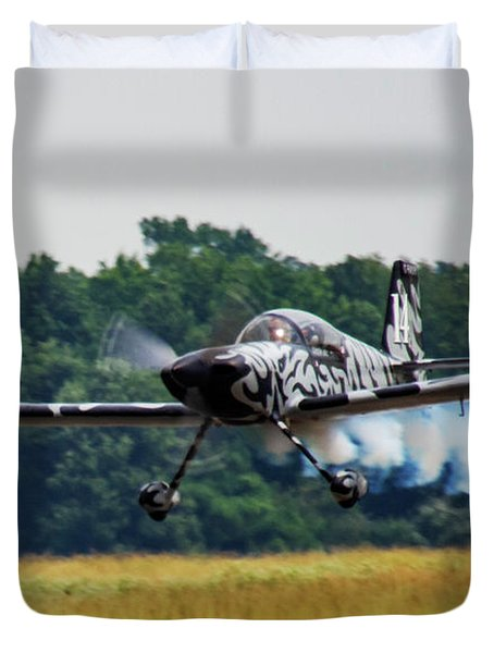Big Muddy Air Race Number 14 Duvet Cover