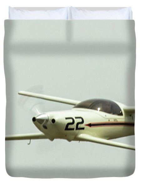 Big Muddy Air Race Number 22 Duvet Cover