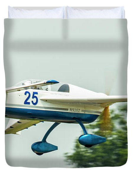 Big Muddy Air Race Number 25 Duvet Cover