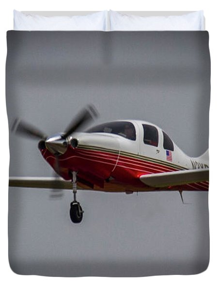 Big Muddy Air Race Number 3 Duvet Cover