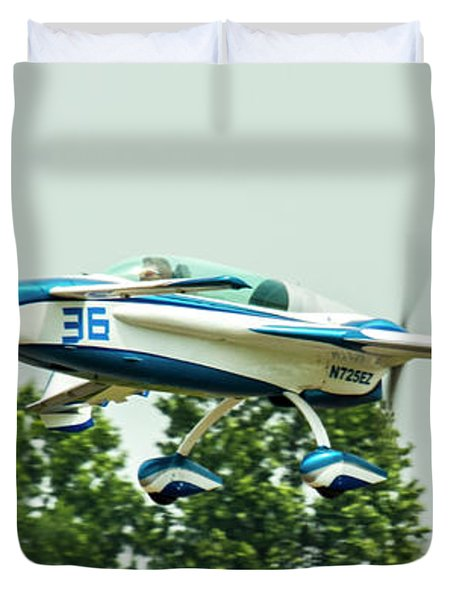 Big Muddy Air Race Number 36 Duvet Cover