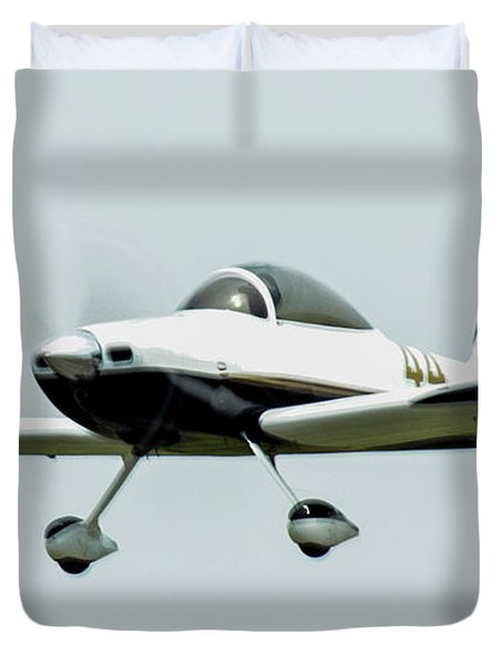 Big Muddy Air Race Number 44 Duvet Cover