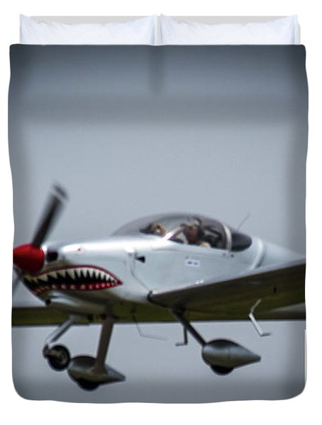 Big Muddy Air Race Number 5 Duvet Cover