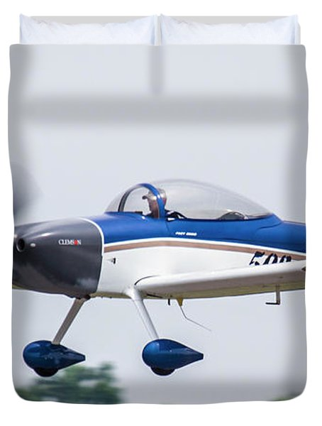 Big Muddy Air Race Number 503 Duvet Cover
