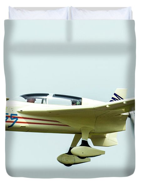 Big Muddy Air Race Number 55 Duvet Cover
