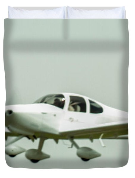Big Muddy Air Race Number 6 Duvet Cover
