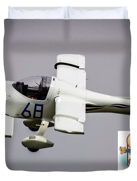 Big Muddy Air Race Number 68 Duvet Cover