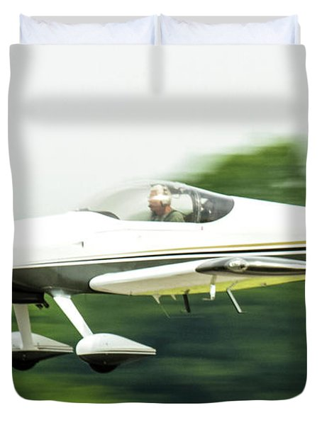 Big Muddy Air Race Number 8 Duvet Cover