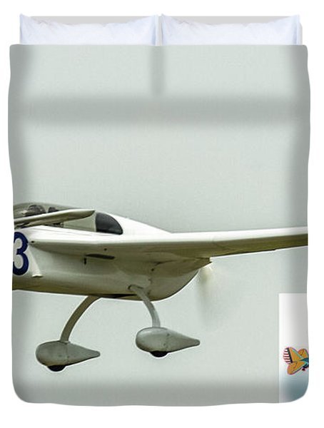 Big Muddy Air Race Number 83 Duvet Cover