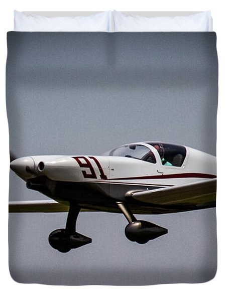 Big Muddy Air Race Number 91 Duvet Cover