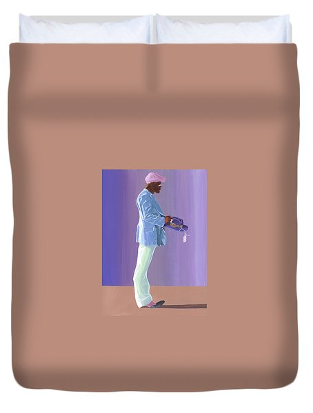 Big Otis Duvet Cover