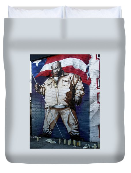 Big Pun Duvet Cover