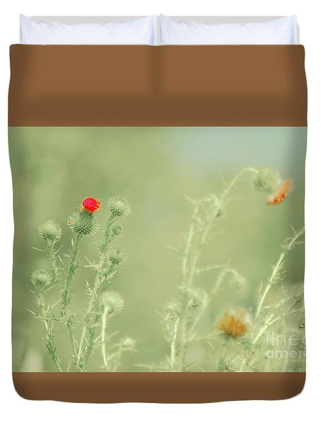 Big Red, Little Red Duvet Cover