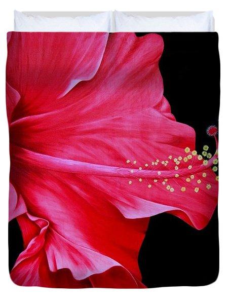 Big Red Duvet Cover