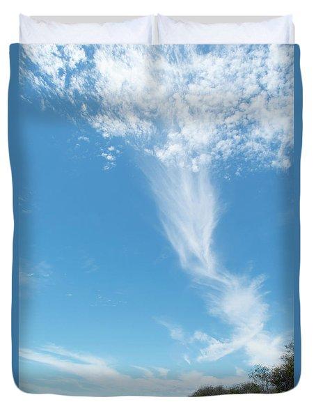 Big Sky Beach Duvet Cover