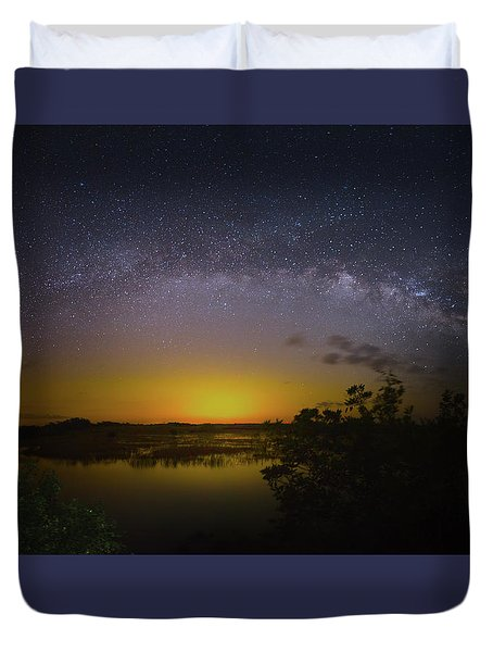 Big Sky Galaxy Duvet Cover