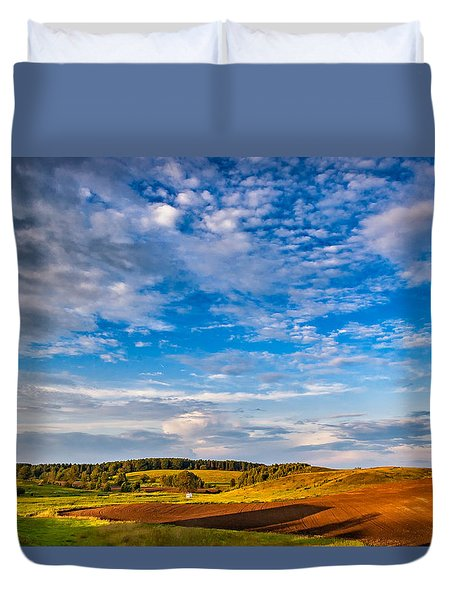 Big Sky Ontario Duvet Cover by Steve Harrington