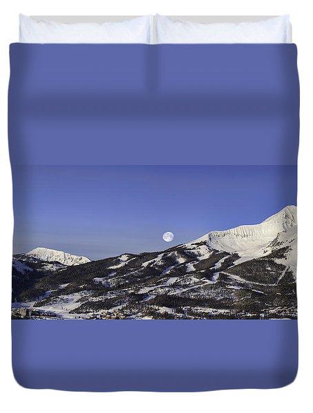Big Sky Panorama Duvet Cover