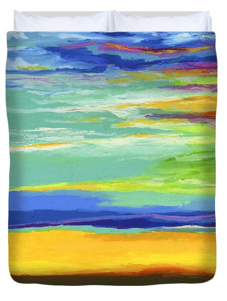 Big Sky Duvet Cover by Stephen Anderson