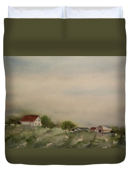 Big Sky Duvet Cover