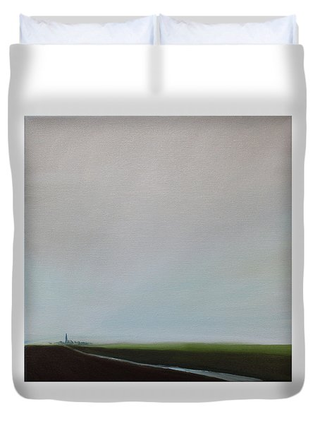 Big Sky Duvet Cover by Tone Aanderaa