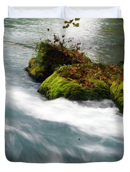 Big Spring Branch 2 Duvet Cover by Marty Koch