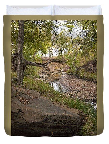 Big Stone Creek Duvet Cover by Ricky Dean