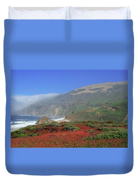 Big Sur 4 Duvet Cover