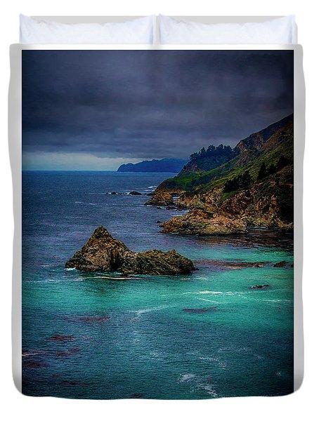 Big Sur Coastline Duvet Cover by Joseph Hollingsworth