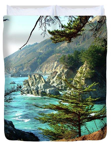 Big Sur Vista Duvet Cover by Charlene Mitchell
