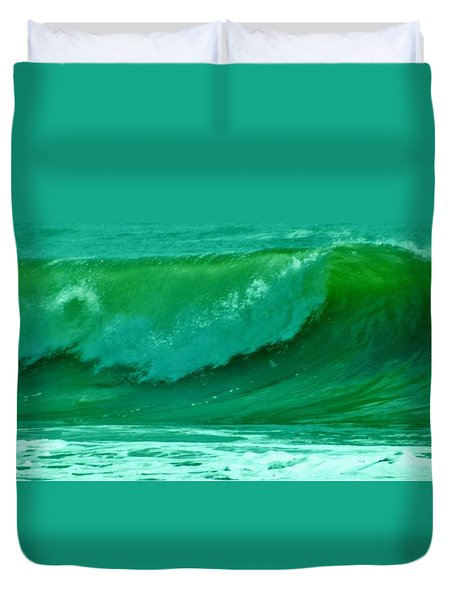 Big Surf 2 Duvet Cover by John Wartman