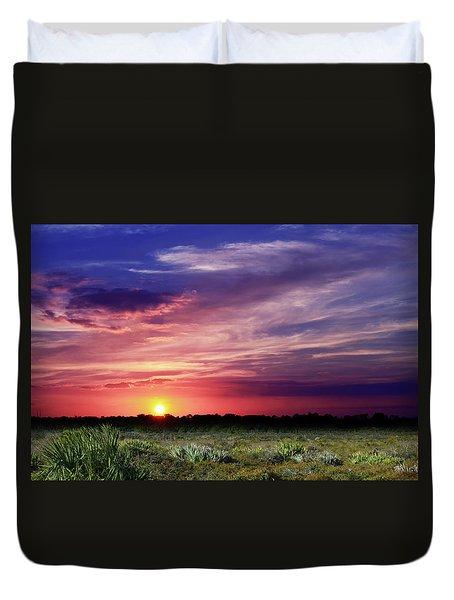 Big Texas Sky Duvet Cover