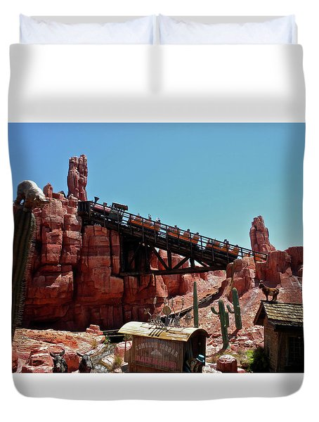 Big Thunder Mountain Walt Disney World Mp Duvet Cover