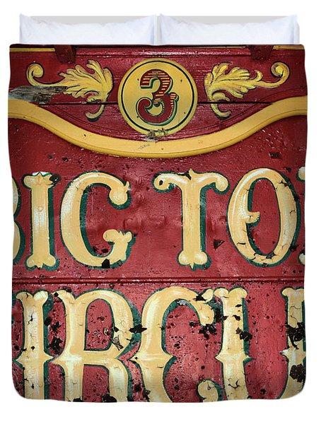 Big Top Circus Duvet Cover