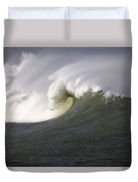 Big Waves #3 Duvet Cover by Mark Alder