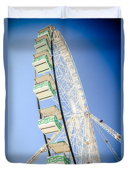 Duvet Cover featuring the photograph Big Wheel by Jason Smith