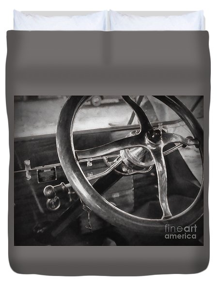 Big Wheel Duvet Cover by JRP Photography