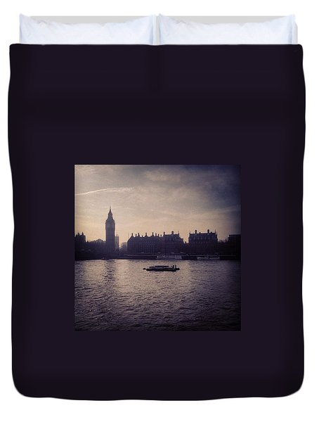 #bigben #london Duvet Cover