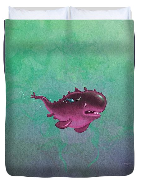 Bigfish Duvet Cover