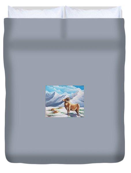 Bighorn Kam Duvet Cover