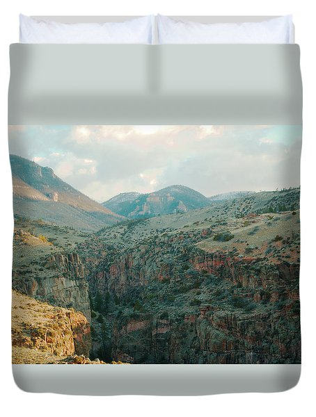 Bighorn National Forest Duvet Cover