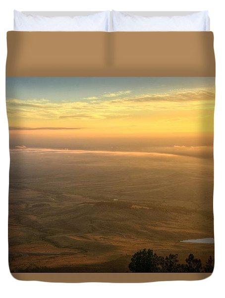 Bighorn Sunrise Duvet Cover