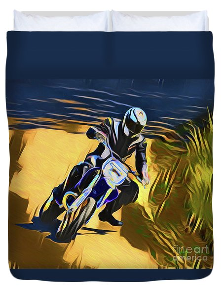 Biker 21018 Duvet Cover