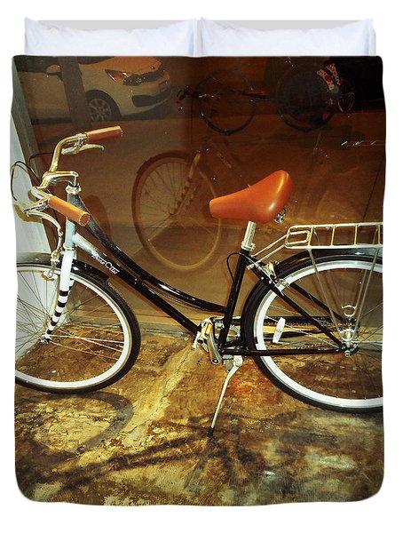 Bikes 2 Duvet Cover