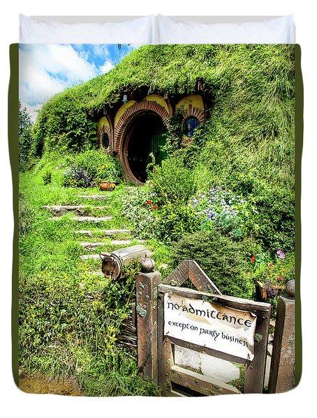 Bilbo's Hobbit Hole Duvet Cover