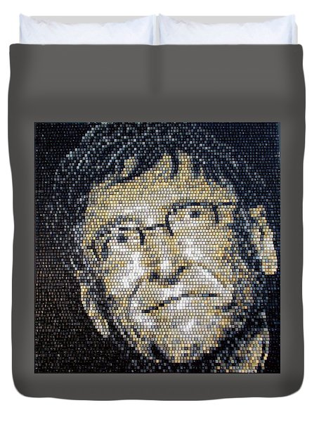 Bill Gates Duvet Cover