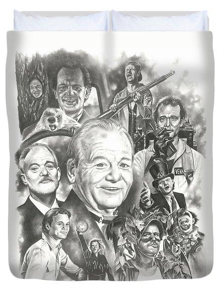 Bill Murray Duvet Cover