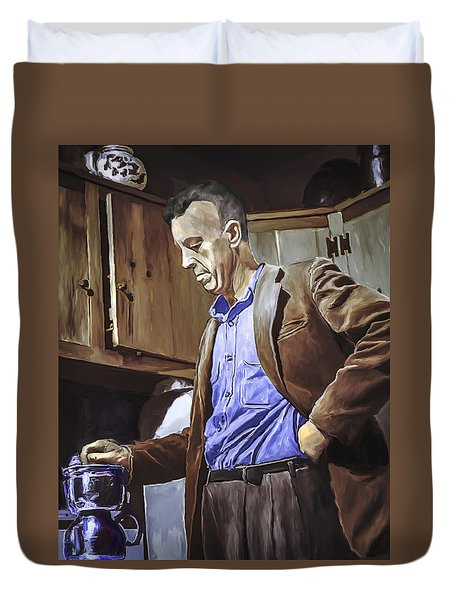 Bill Wilson Duvet Cover