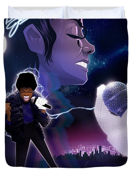 Billie Jean 2 Duvet Cover