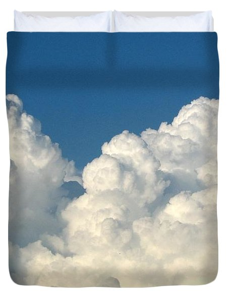 Billowing Clouds 1 Duvet Cover
